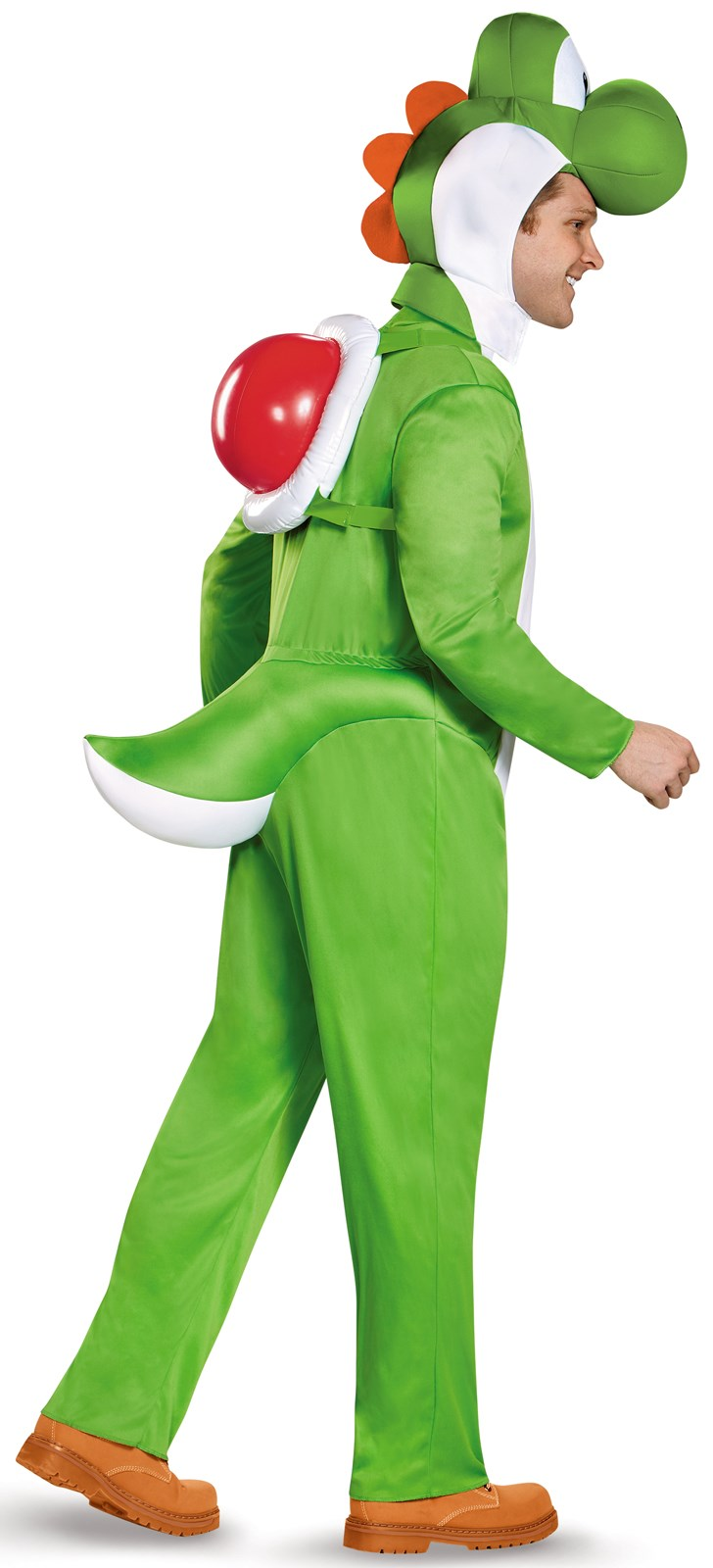 super mario  deluxe yoshi costume for adults