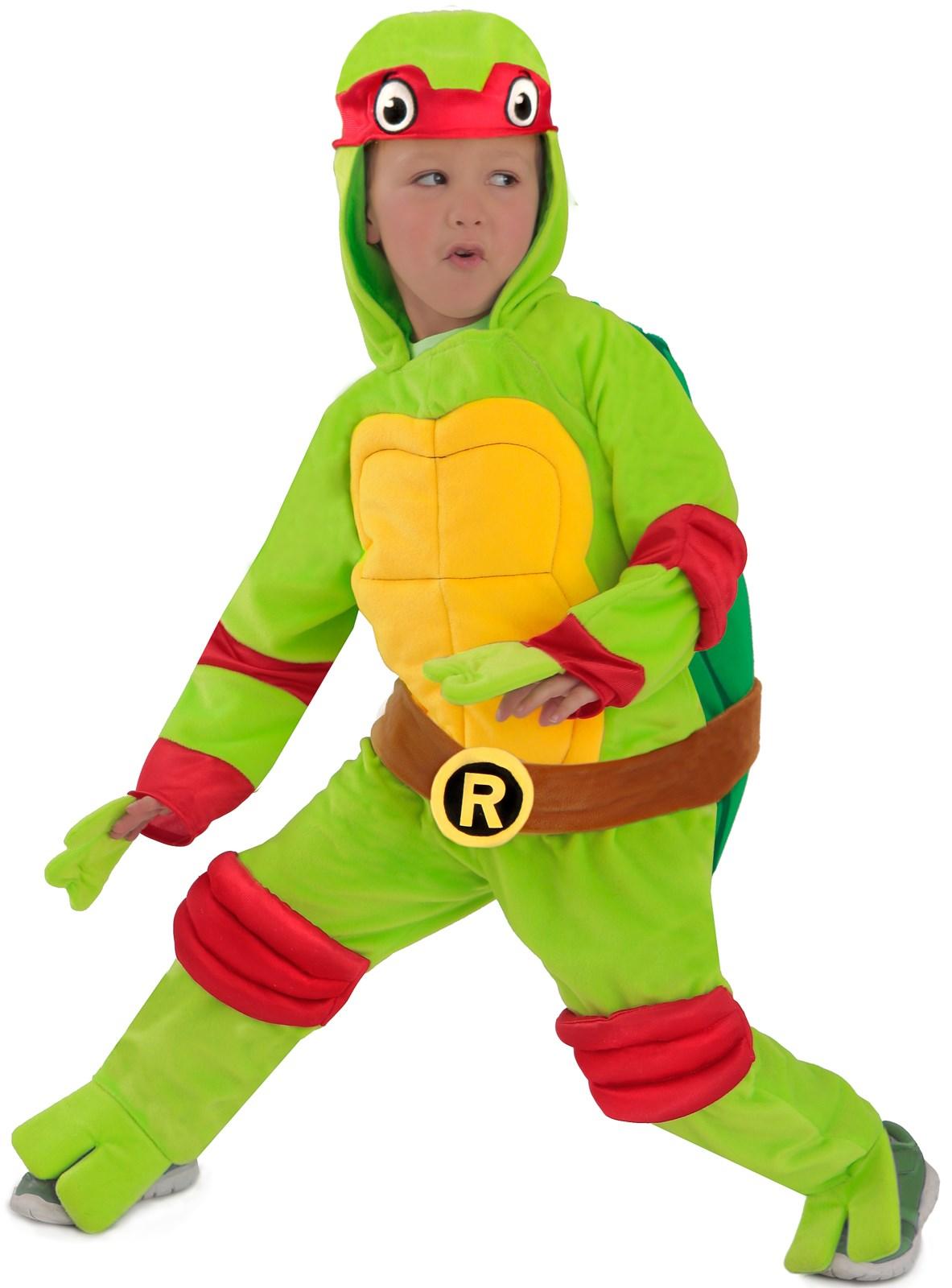 Ninja Turtle Nails: Teenage Mutant Ninja Turtles Raphael Kids Costume