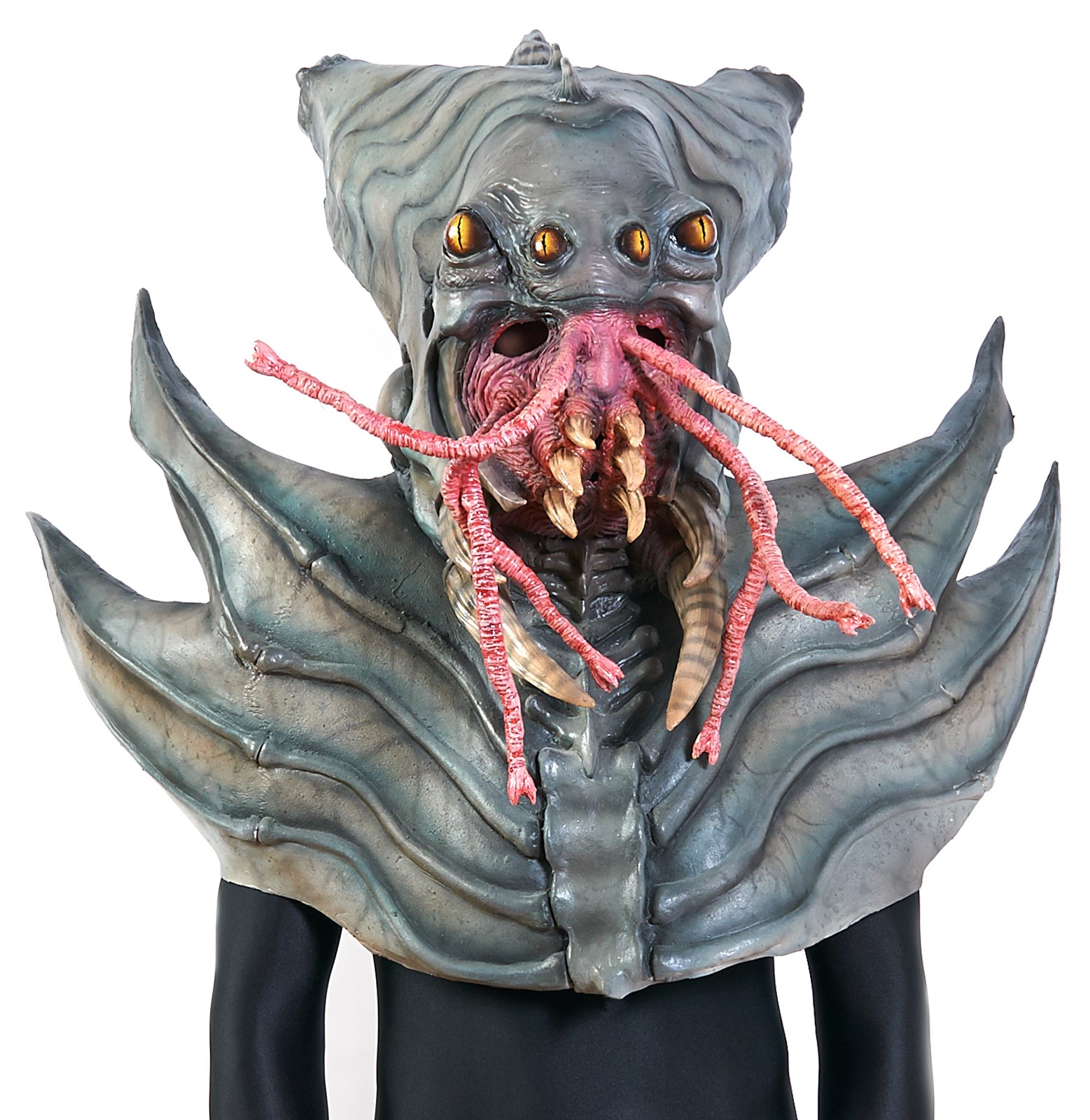 Outdoor halloween decorations party - The Nightmare Collection Amphibious Alien Mask Buycostumes Com