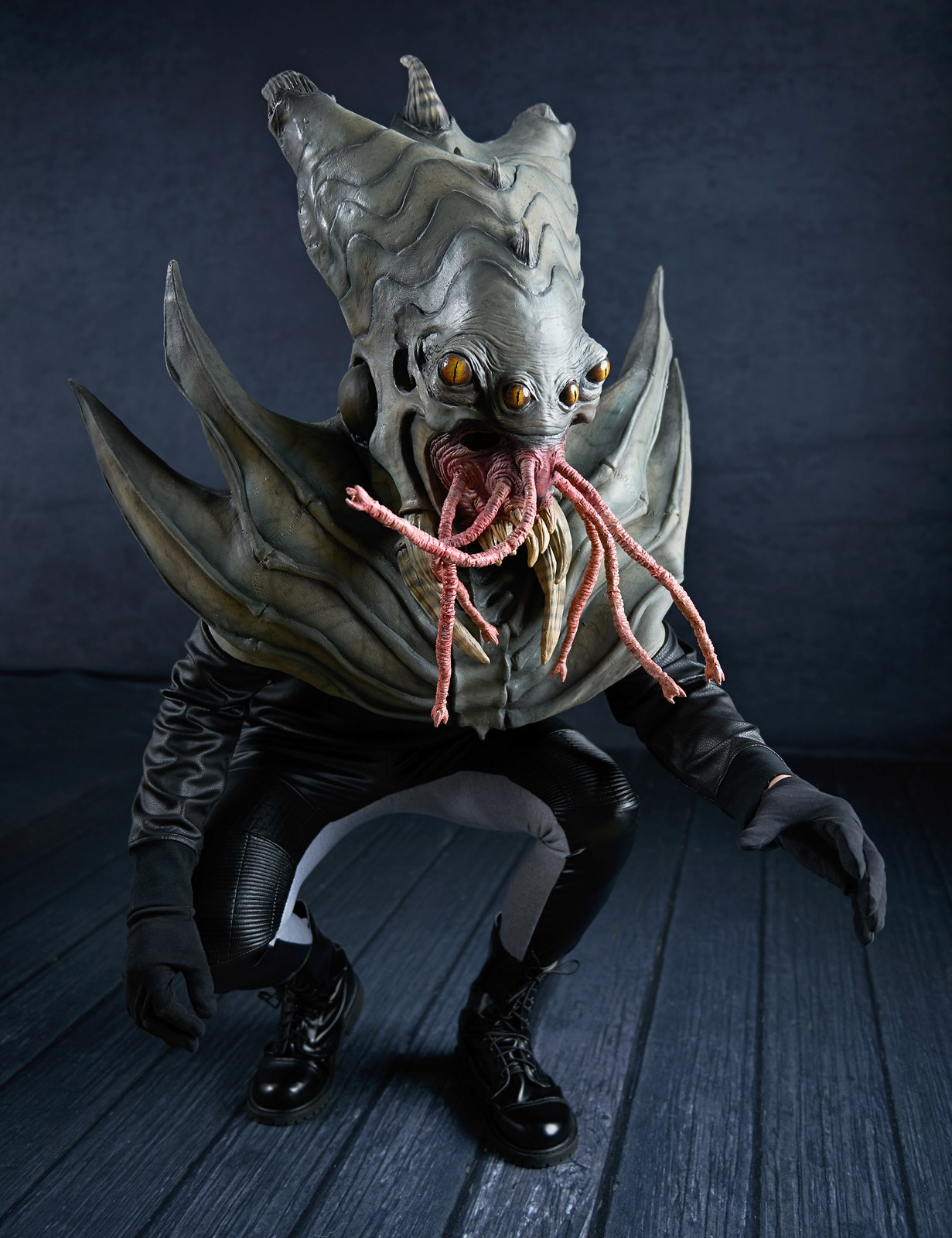 The Nightmare Collection - Amphibious Alien Mask   BuyCostumes.com
