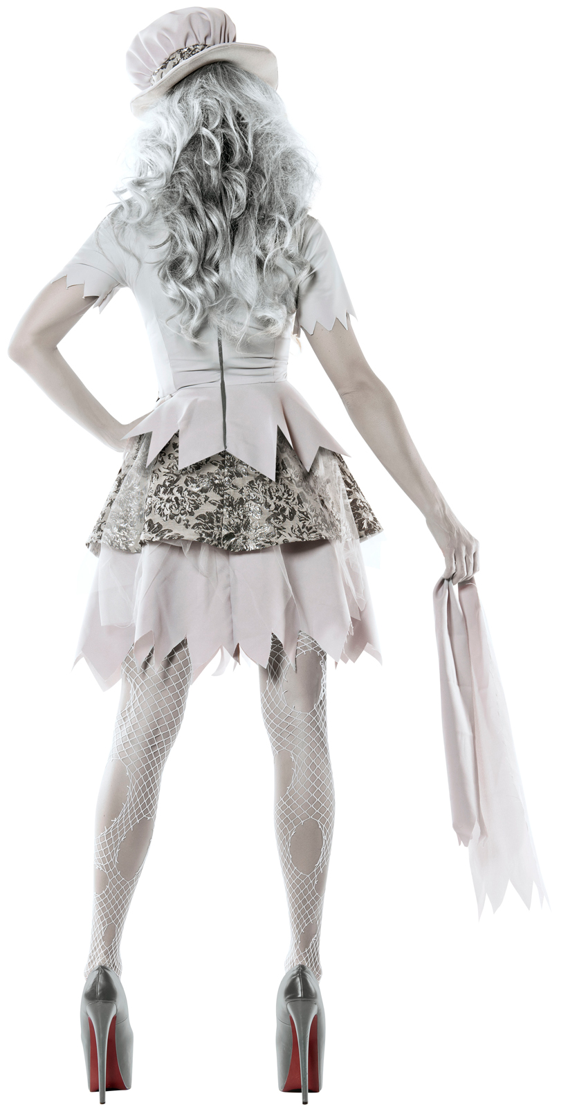 Victorian Ghost Bride Costume - HalloweenCostumes.co.uk